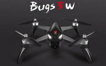 🔥 Soldes : le drone MJX bugs 5W + 3 batteries en promo à 139€