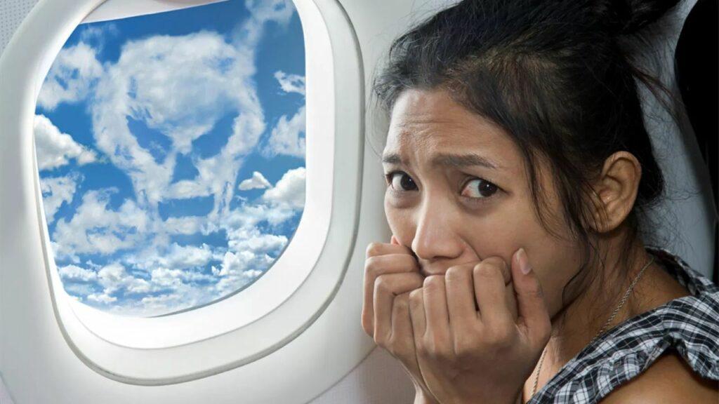 Avoir peur en avion