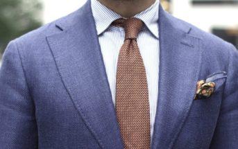 5 règles à suivre pour bien porter la cravate