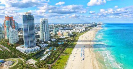 Le quartier de South Beach à Miami