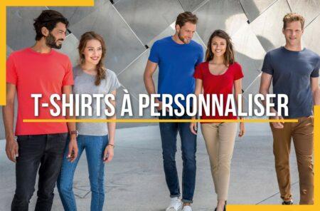 T-shirts à personnaliser pour start-up