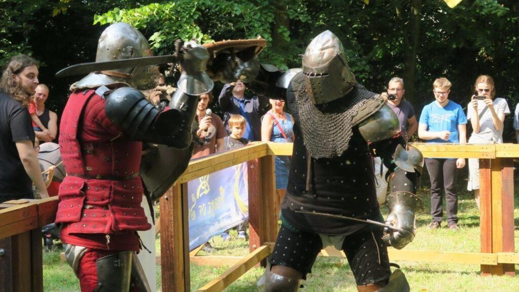 Béhourd : sport de combat médiéval