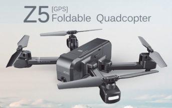 🔥 Code promo : le drone SJRC Z5 à 79€ et 131€ avec 3 batteries !