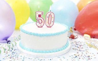 Vous avez 50 ans ? Nos conseils pour une fête d'anniversaire mémorable !