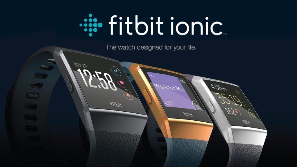 fitbit ionic : la montre de sport en promo