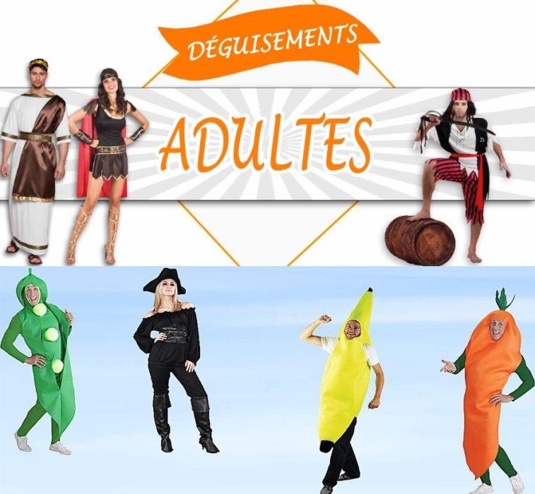 idées de déguisements adulte