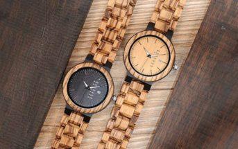 Mode : la montre en bois au top de la tendance en 2019