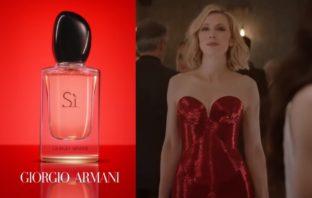 pub 2019 du parfum Si de Giorgio Armani avec Cate Blanchett