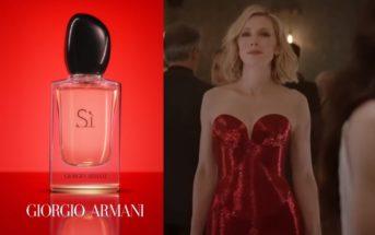 SÌ de Giorgio Armani : la pub 2019 du parfum avec l'actrice Cate Blanchett