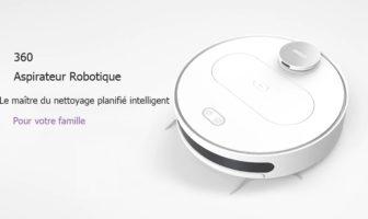 robot aspirateur serpillière 360 S6