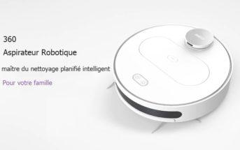 🔥 Promo soldes : le robot aspirateur serpillière 360 S6 à 266€ [entrepôt FR]