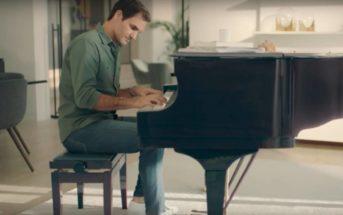 Roger Federer joue du piano en jean UNIQLO : quelle est musique de la pub ?