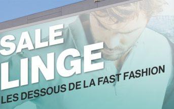 """Sale linge : les dessous de la """"fast fashion"""" dévoilés en infographie"""