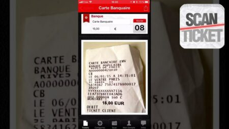 scanticket : l'application iphone pour scanner des tickets