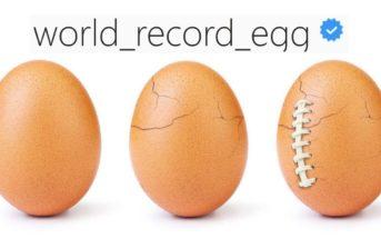 🐣 L'éclosion de l'œuf le plus liké d'Instagram a eu lieu pendant le Super Bowl. Que cachait-t-il ?