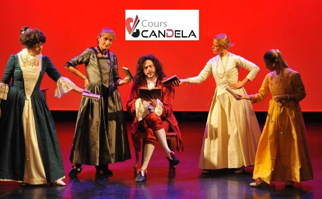 Compagnie Candela : cours de théâtre à Paris