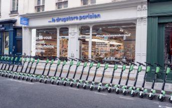 Le drugstore parisien créé le buzz en kidnappant des trottinettes électriques !