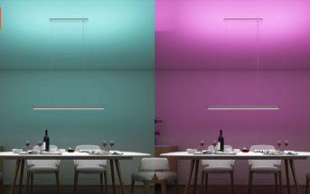 🔥 Xiaomi Yeelight Meteorite : la lampe de salle à manger intelligente en promo à 82€