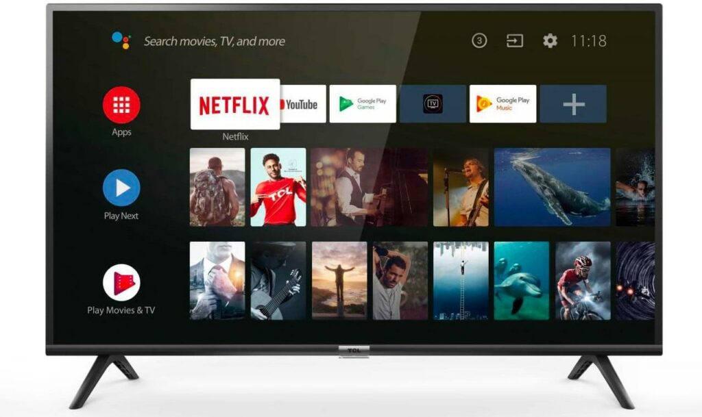 Android tv TCL ES56