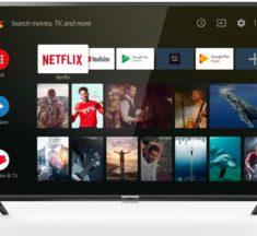 Test et avis de la Android TV HD TCL ES56 + télécommande vocale