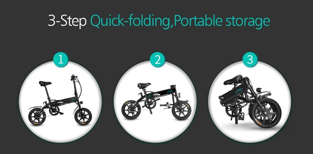 Comment plier le vélo électrique FIIDO D1 ?