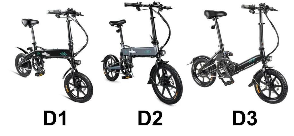 différences entre FIIDO D1, D2 et D3