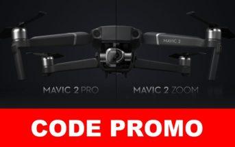 🔥 Code promo : le drone DJI Mavic 2 Pro à 1183€ et le Zoom à 949€ (Mars)