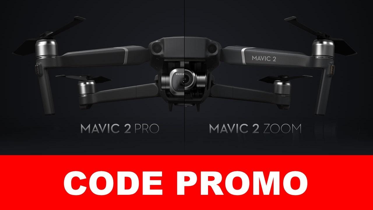 drone dji mavic 2 pro & zoom : code promo