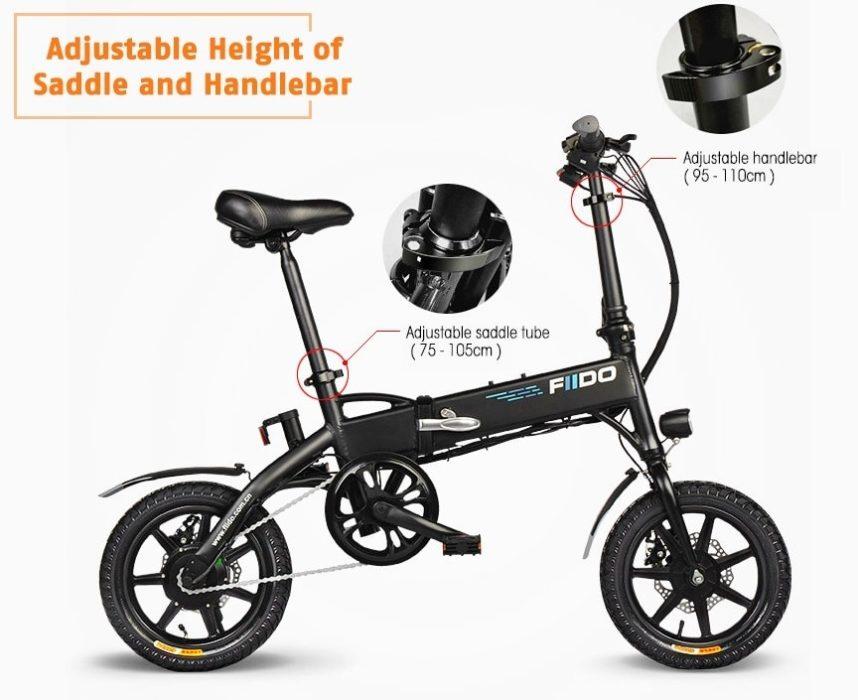 FIIDO D1 : vélo électrique ajustable