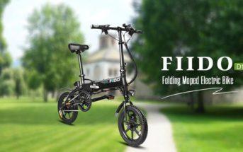 🔥 Promo : le vélo électrique pliant FIIDO D1 à 358€ + bon plan D2 et D3