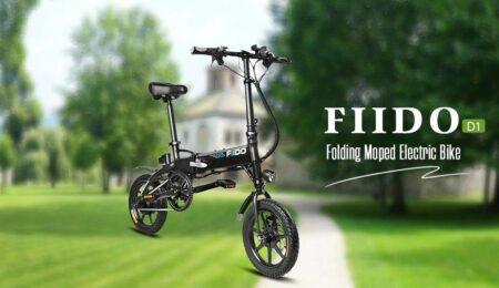 FIIDO D1 : vélo électrique pliant
