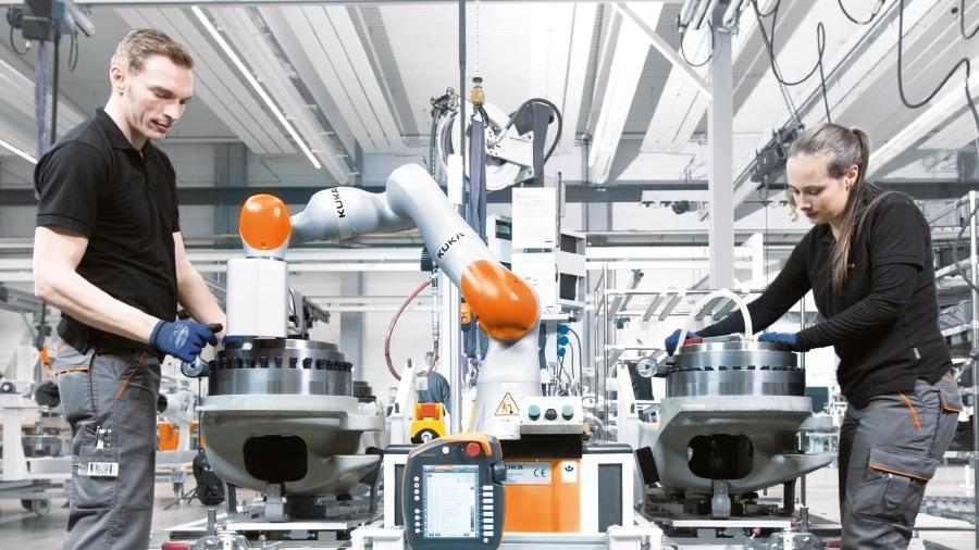 robotique dans l'industrie
