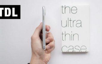 TDL : les coques pour iPhone et Samsung Galaxy les plus fines du marché !