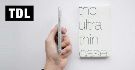 TDL : coque pour smartphone ultra fine