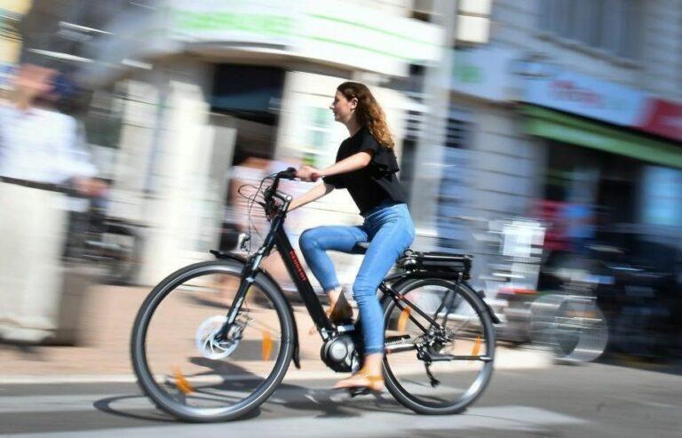 Vélo électrique d'occasion
