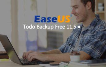 EaseUS Todo Backup Free : logiciel de sauvegarde de données gratuit