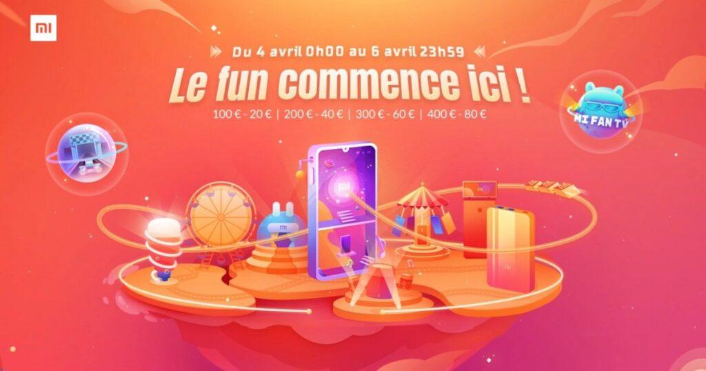 Mi Fan Festival 2019 : promotions xiaomi