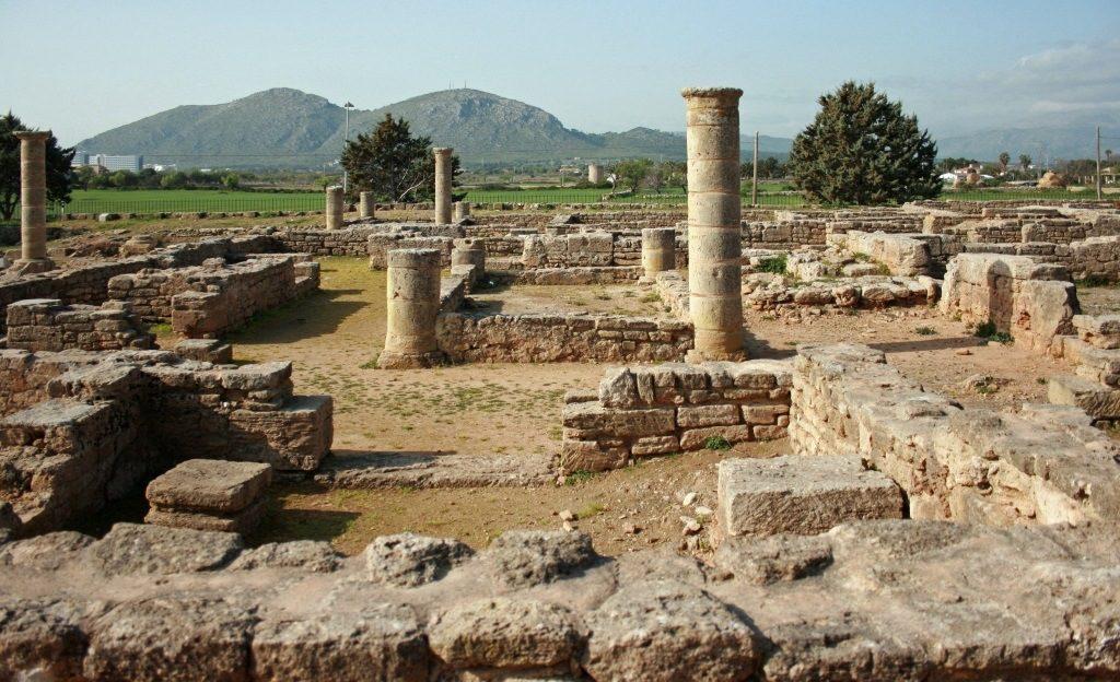 Ruines de Pollentia à Majorque
