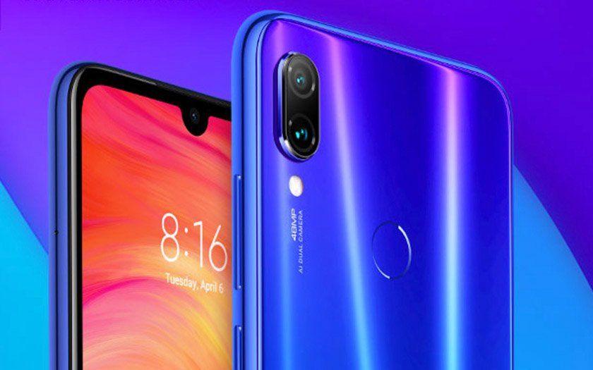 Xiaomi Redmi Note 7 : caméra