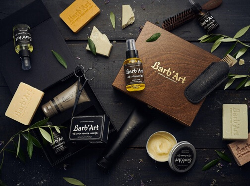 Barb'Art : des produits à barbe naturels & français