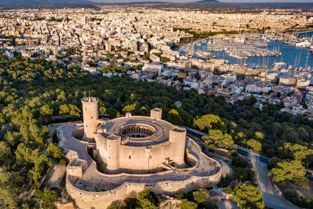 château de Bellver à Majorque