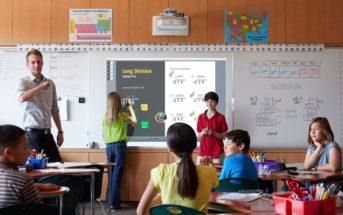 Quel écran interactif est adapté pour les écoles ?
