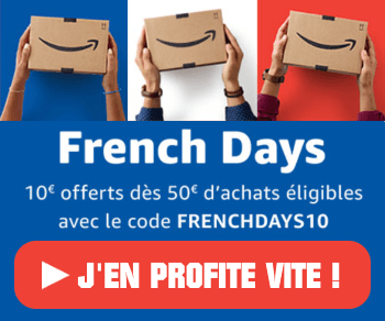 Amazon French days - 300x250