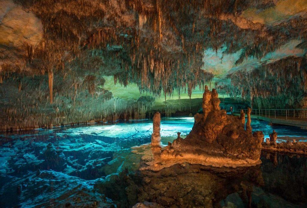grottes du Drach à Majorque