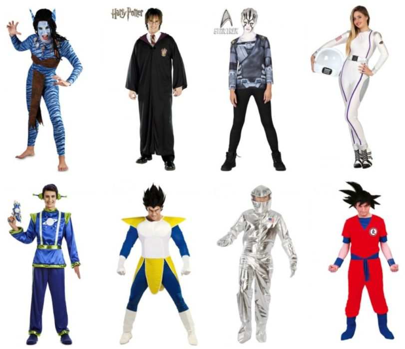 idées de déguisements Dragon Ball Z, Harry Potter ou astronaute