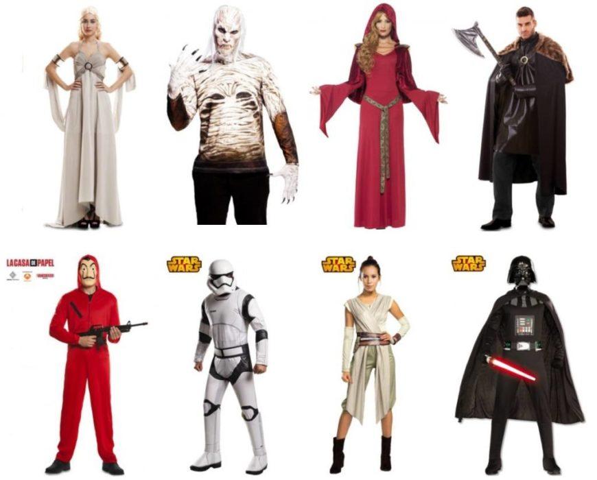 idées de déguisements : Game of Thrones, Star Wars, ou la Casa de papel