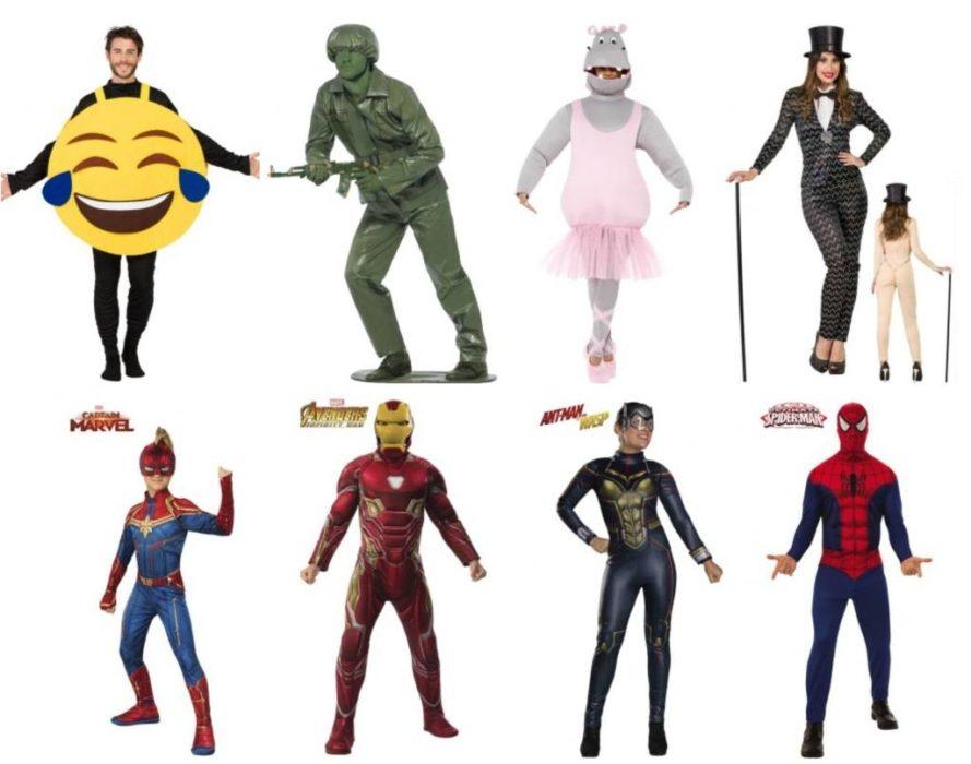 idées de déguisements humoristiques ou Avengers