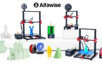 🔥 Black Friday : les codes promo imprimantes 3D Alfawise U20 et U30