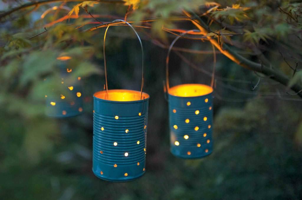 Créer des lanternes avec des boites de conserves