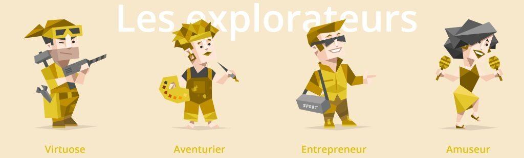 personnalité : explorateur